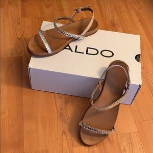Crystal sandals